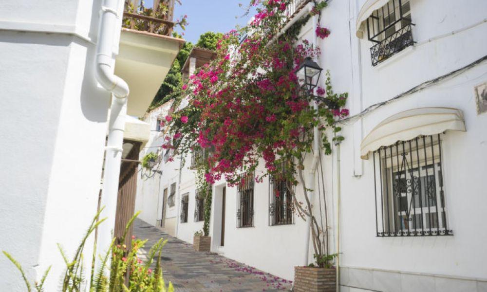 Rues pavées de Marbella