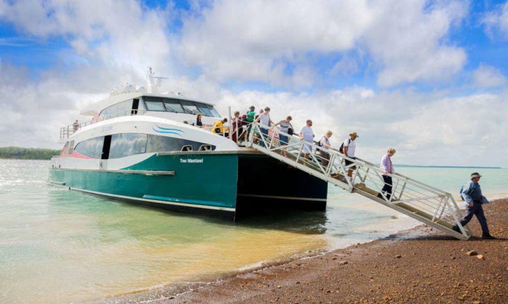 Ferry pour l'île Bathurst