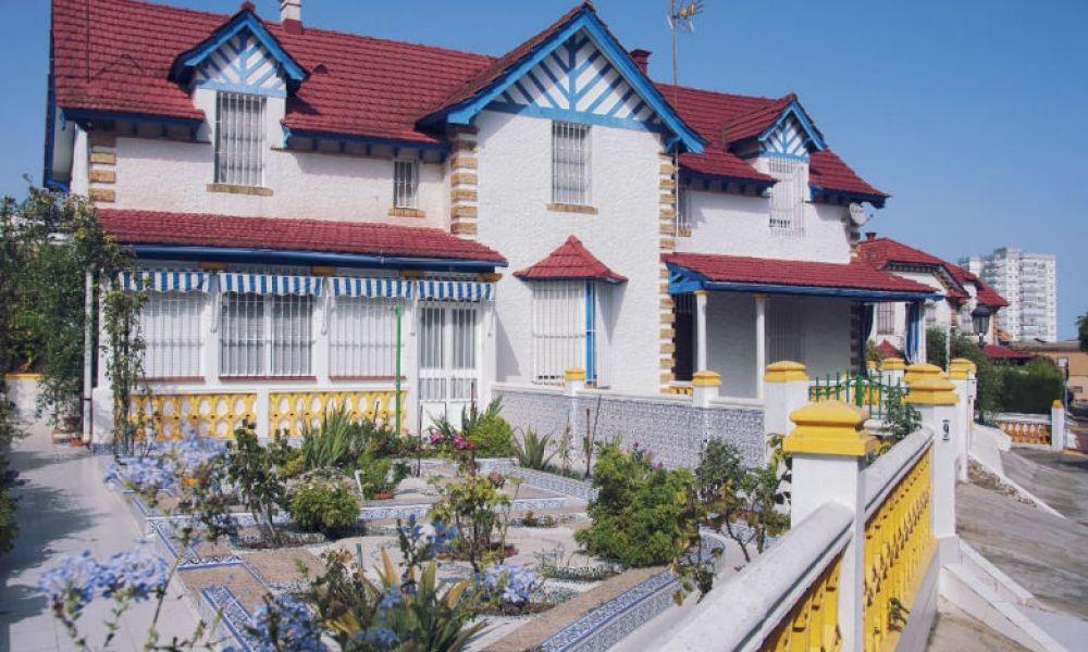 Quartier Reina Victoria, à Huelva