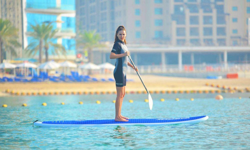 Paddle à Dubaï