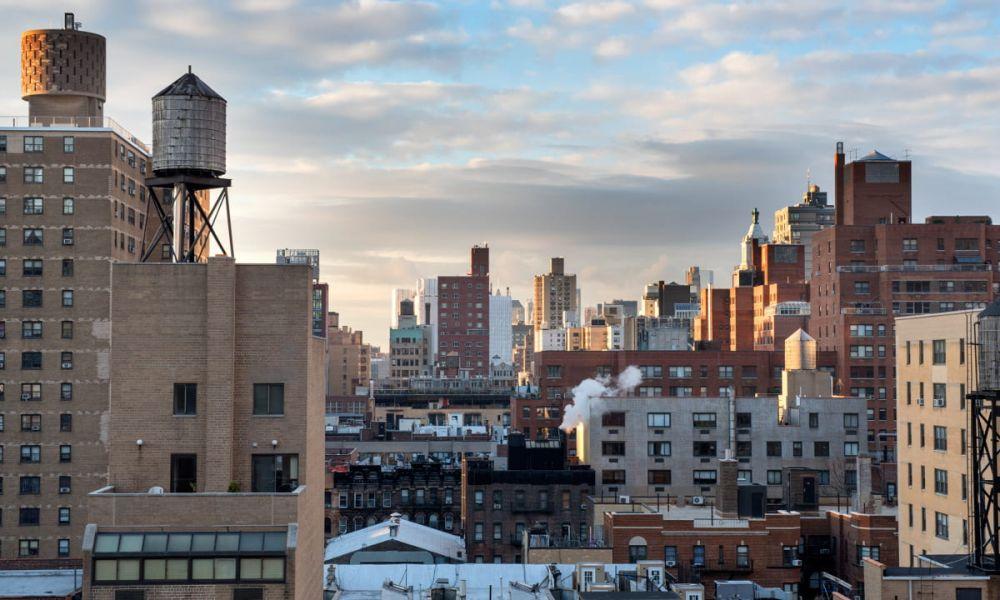 Le paysage urbain de Manhattan
