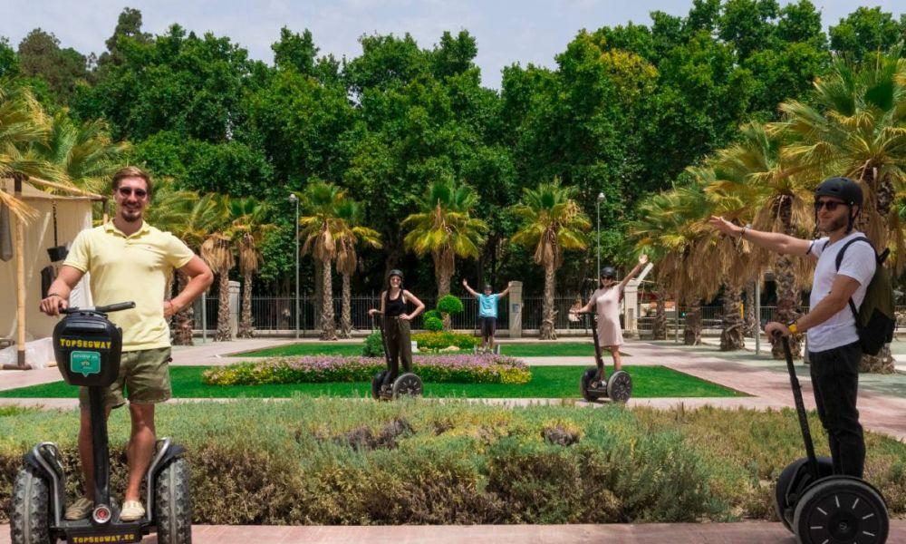 Visite de Malaga en Segway