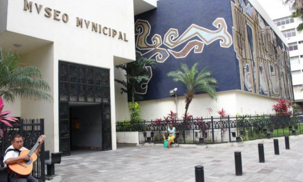 L'entrée du musée de la ville de Guayaquil