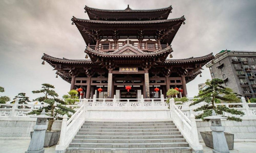 Le temple de Xiao Yao