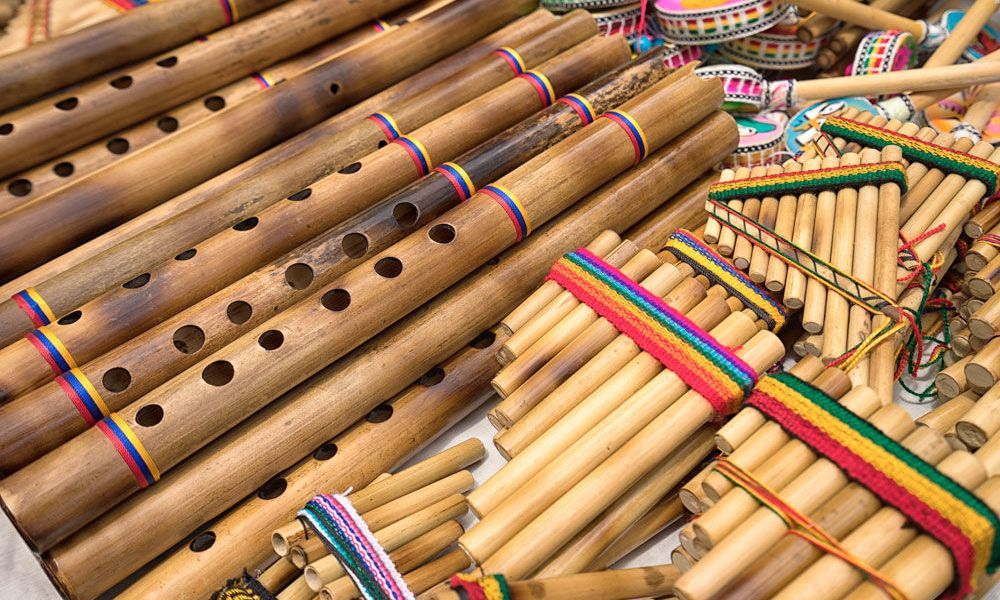 Instruments de musique andins