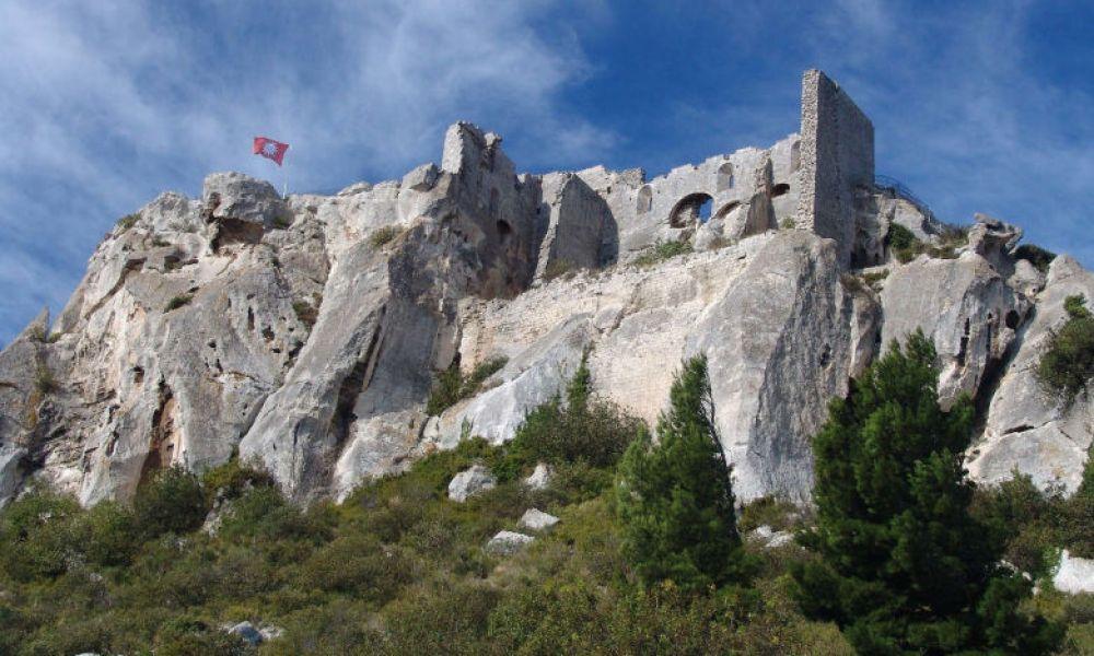 Forteresse médiévale aux Baux