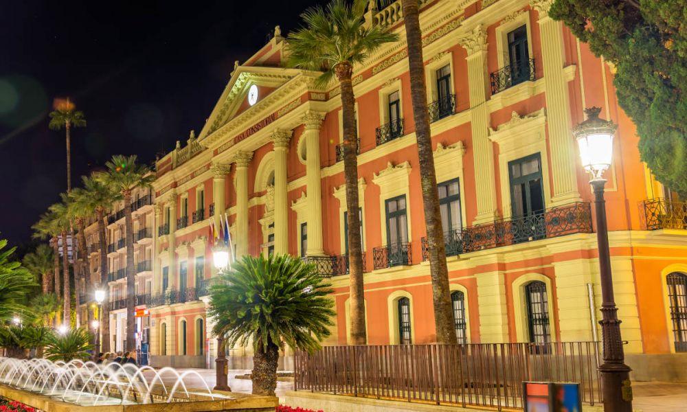 La plaza de la Glorieta de España