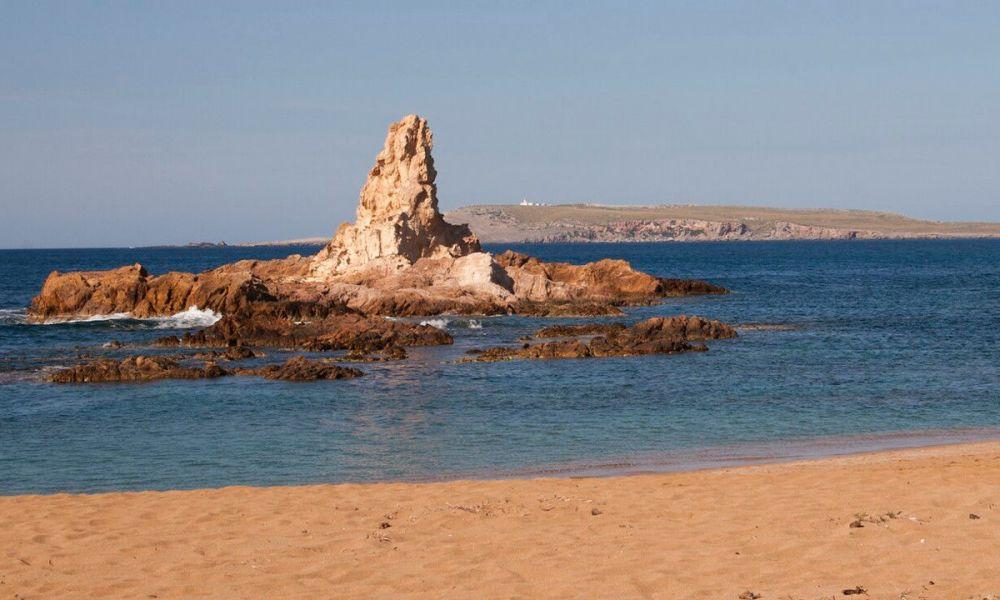 Cala Pregonda, au nord de Minorque