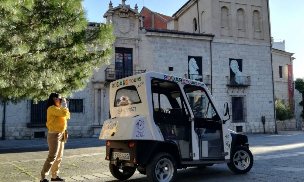 Voiture électrique dans Valladolid