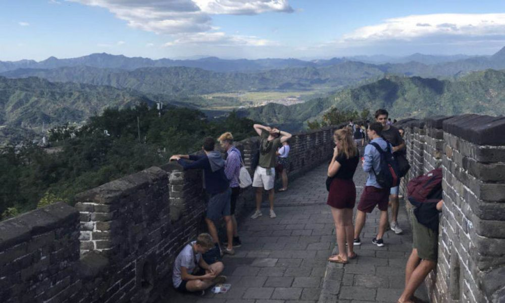 Visite de la Grande Muraille de Chine