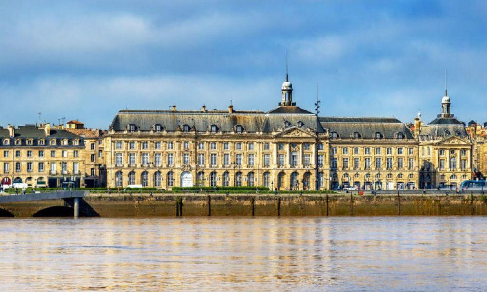 La place de la Bourse de Bordeaux