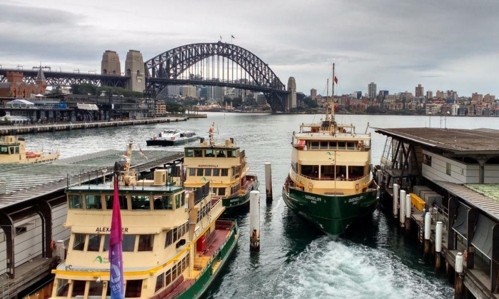 Port de Circular Quay à Sydney