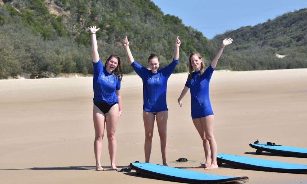 Prêts à faire du surf ?