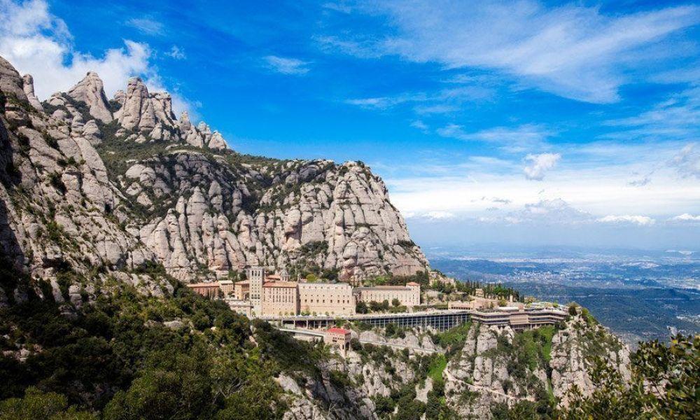 Paysage de Montserrat