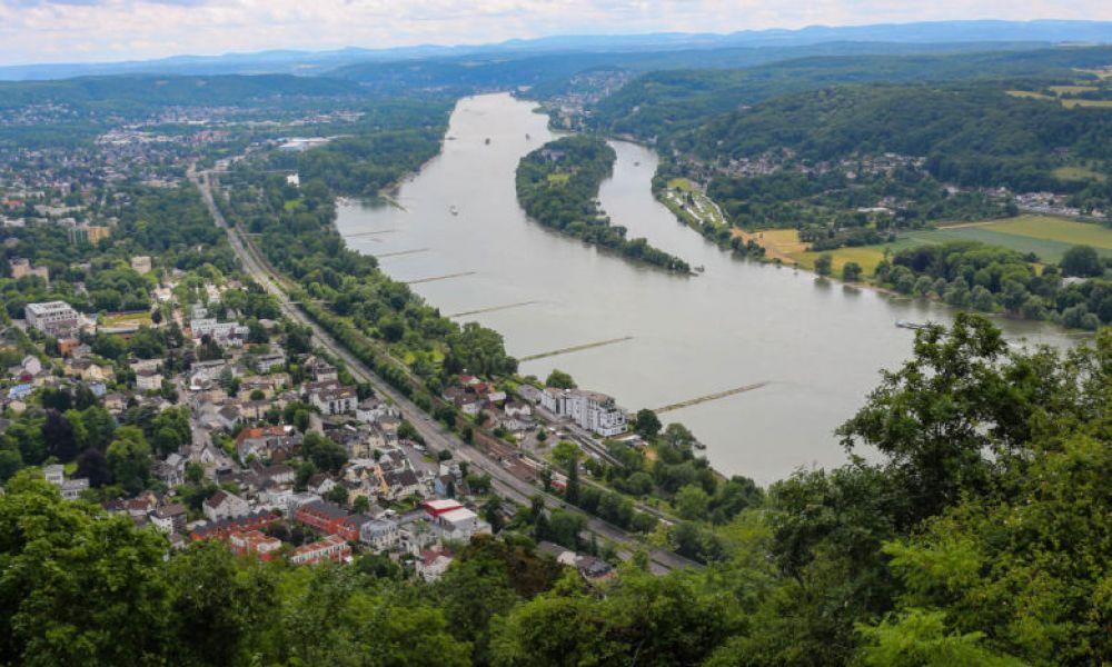 Paysages du Rhin
