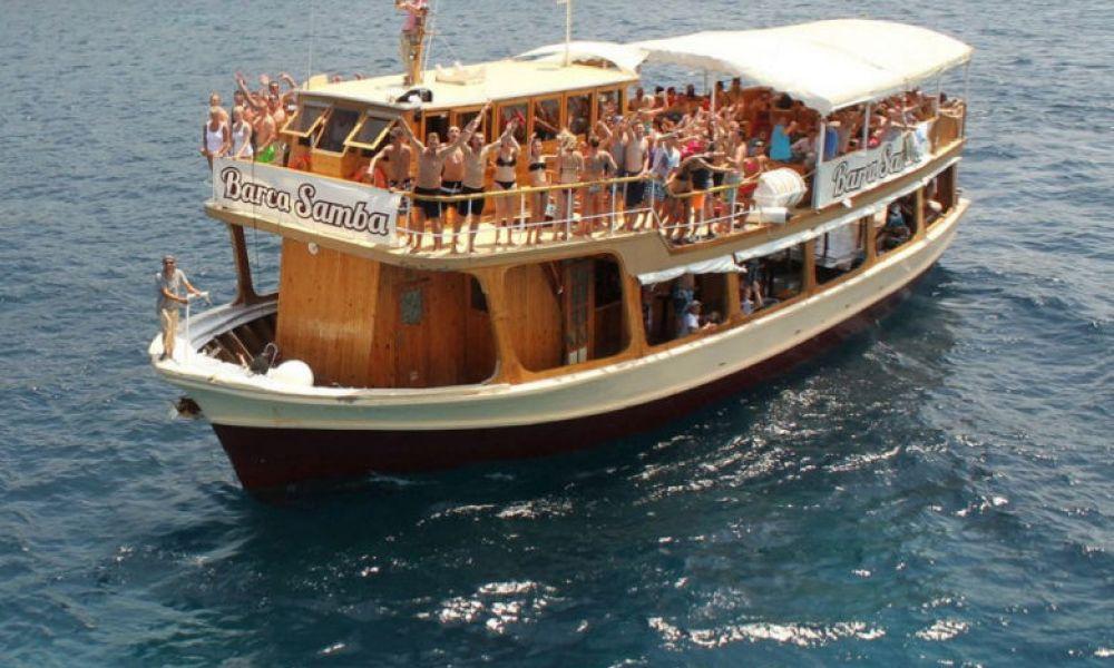 Une boat party à Majorque