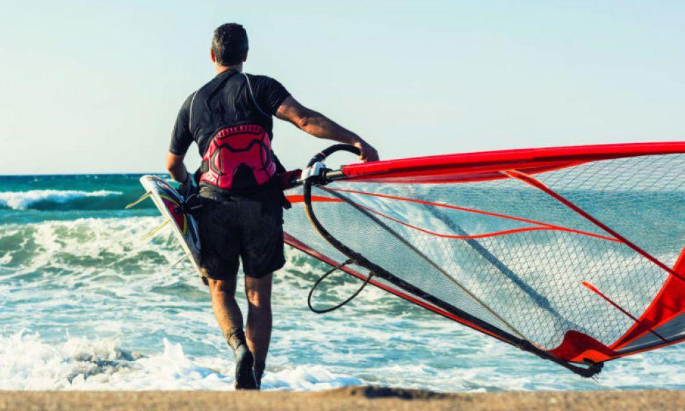 Vous aller adorer le windsurf