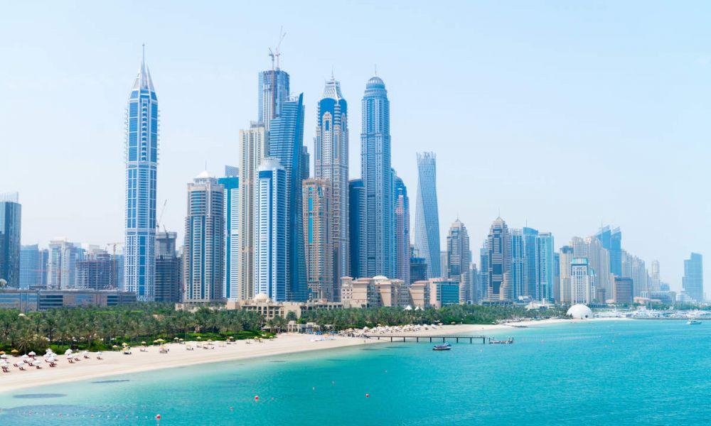 La côte de Dubaï