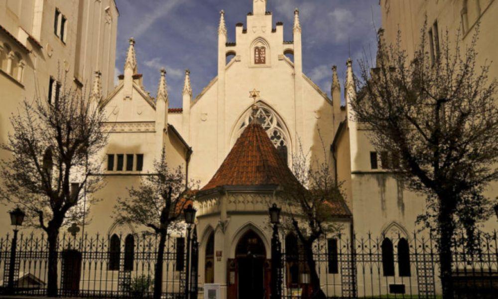 Une synagogue du quartier juif