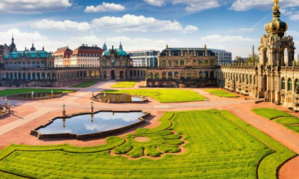 Les jardins du palais Zwinger