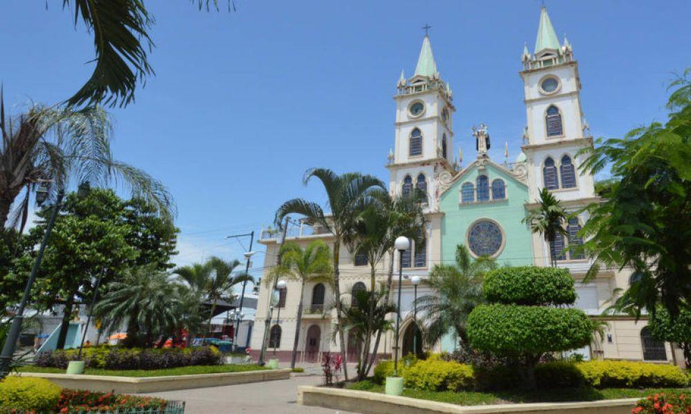 La cathédrale de San Jacinto, à Yaguachi