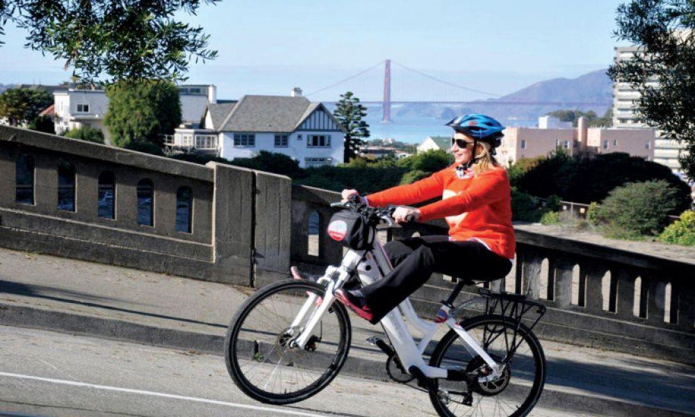 Location de vélos électriques à San Francisco