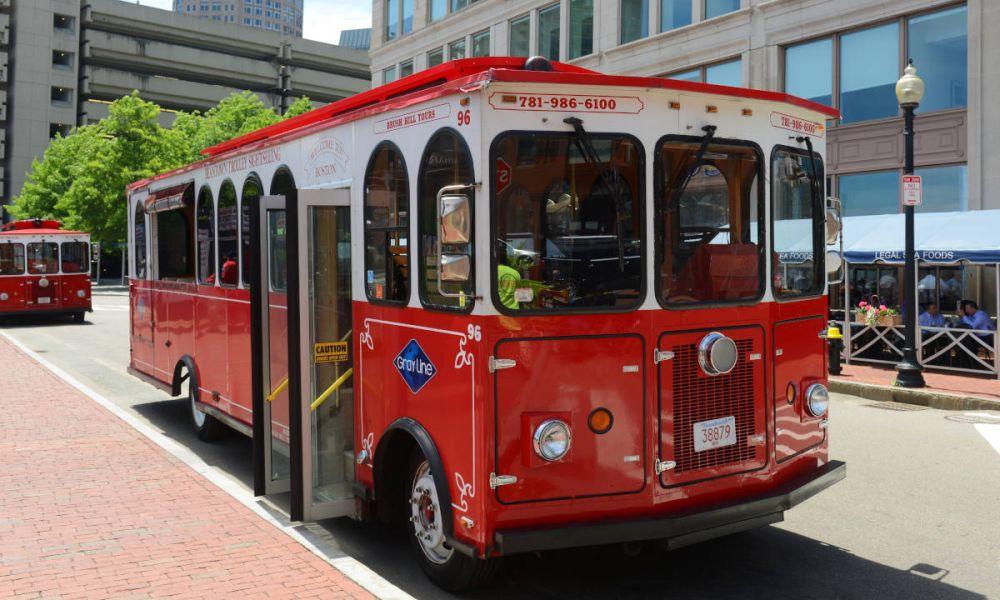 Trolleybus de Boston