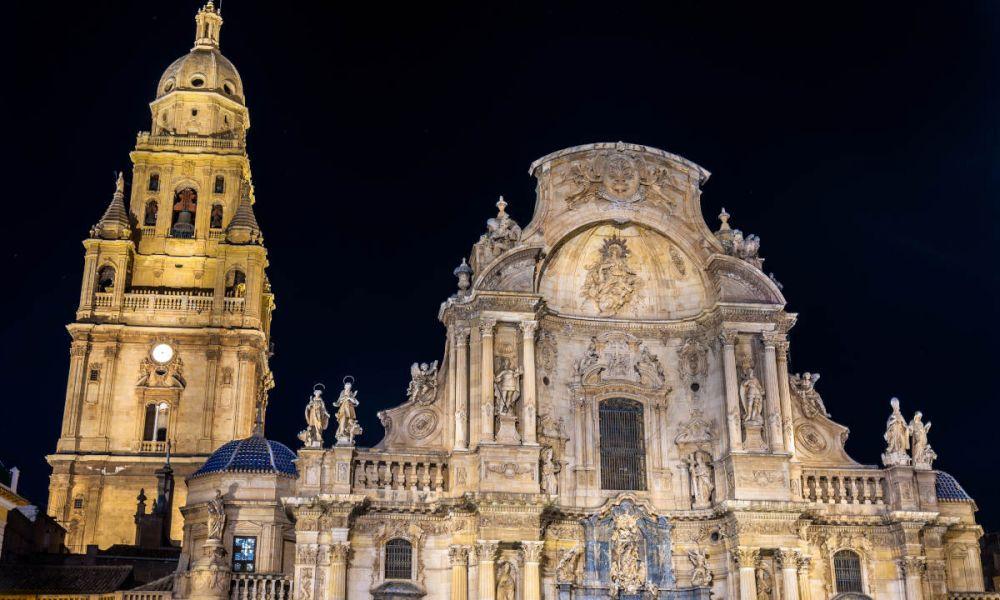 La cathédrale de Murcie