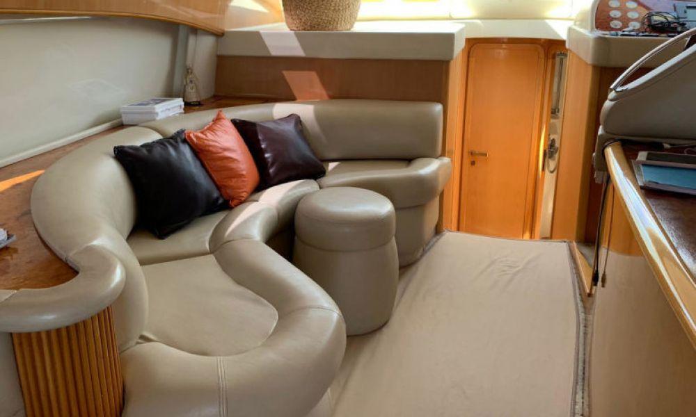 L'intérieur du bateau