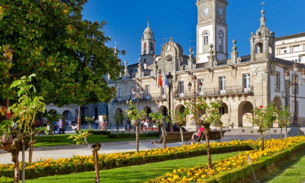 Mairie de Lugo, sur la Plaza Mayor