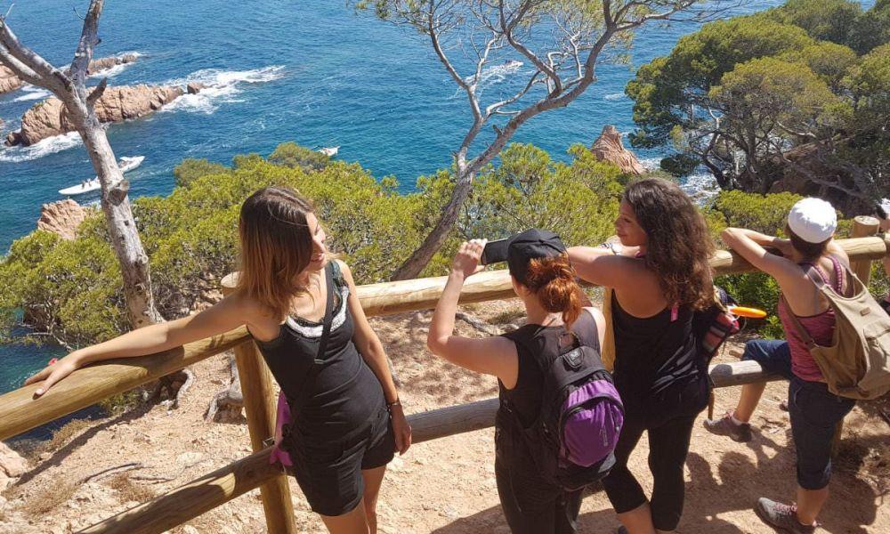 Randonnée sur la Costa brava