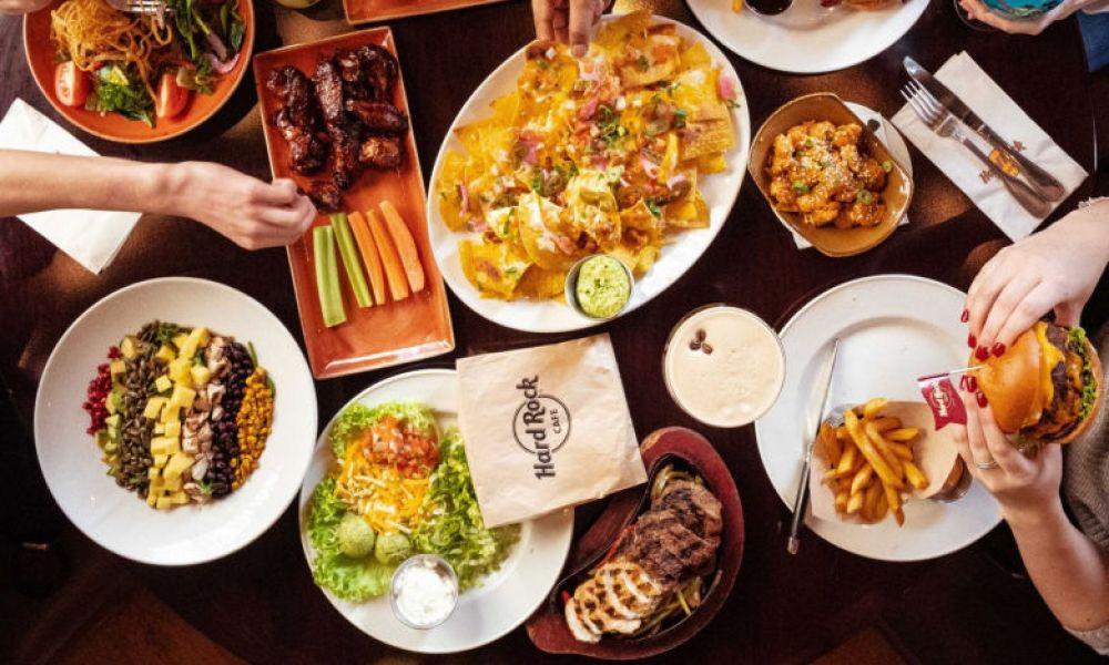 Table du Hard Rock Cafe Barcelona