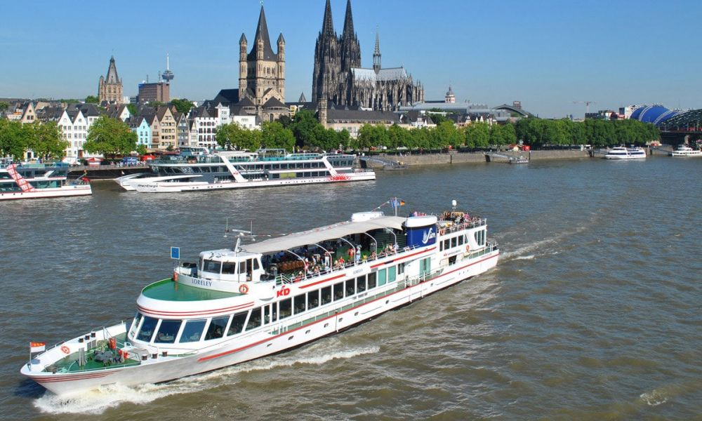 Naviguez sur le Rhin à Cologne