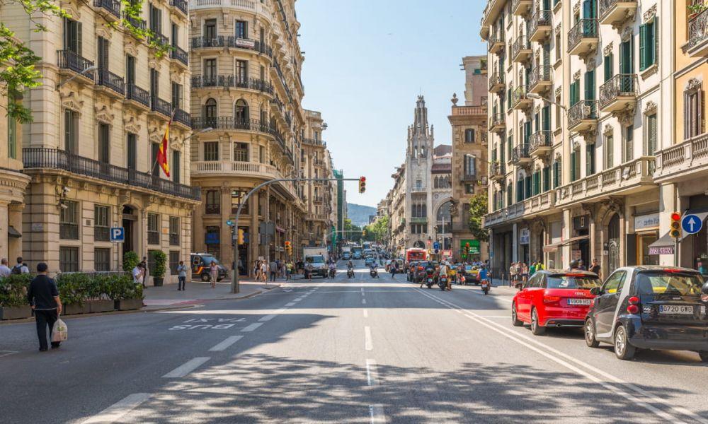 Balade en scooter dans Barcelone
