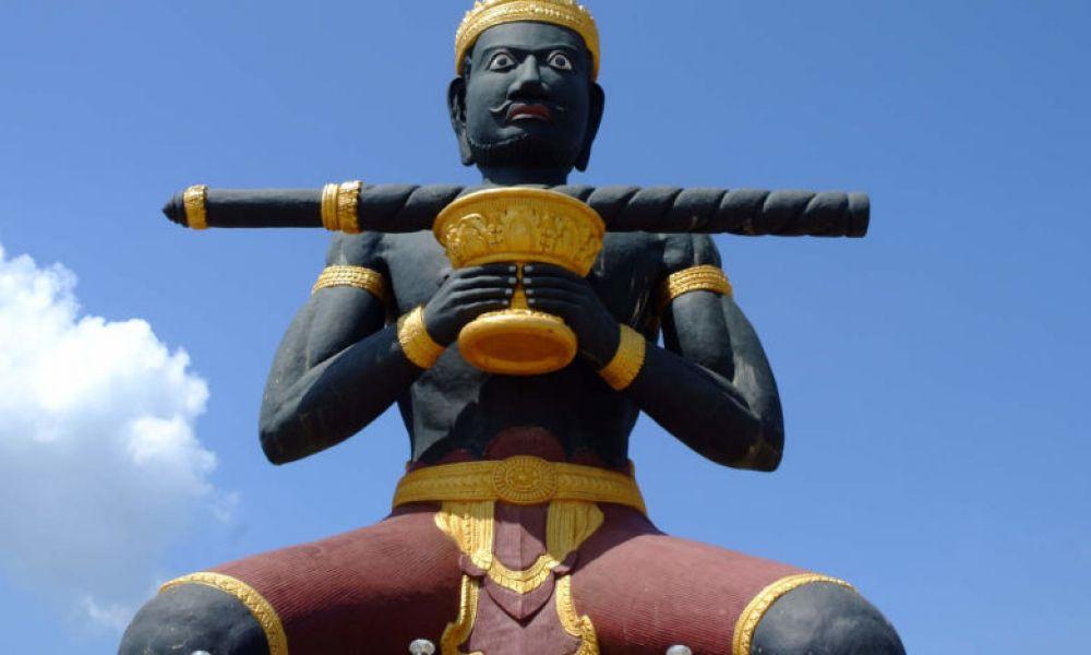 Statue de Ta Dumbong à Battambang