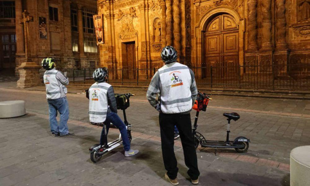 Visite nocturne de Quito