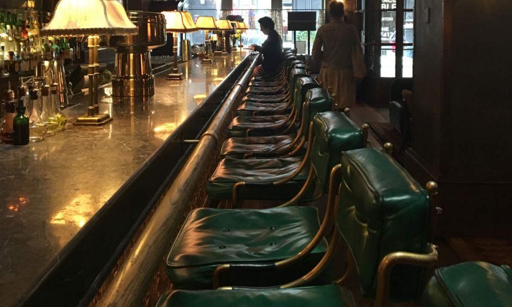 Une brasserie du sud de Manhattan