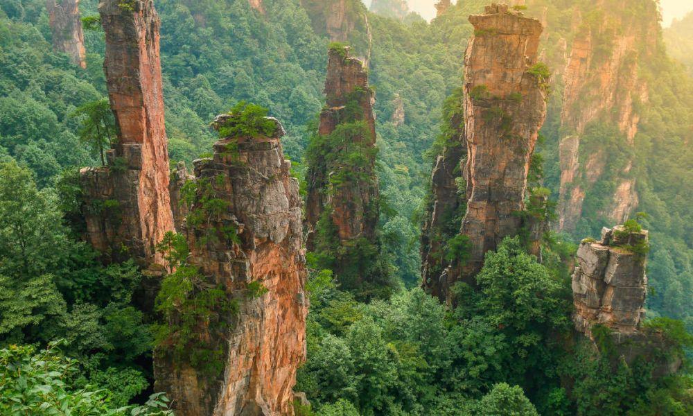 La montagne Tianzi