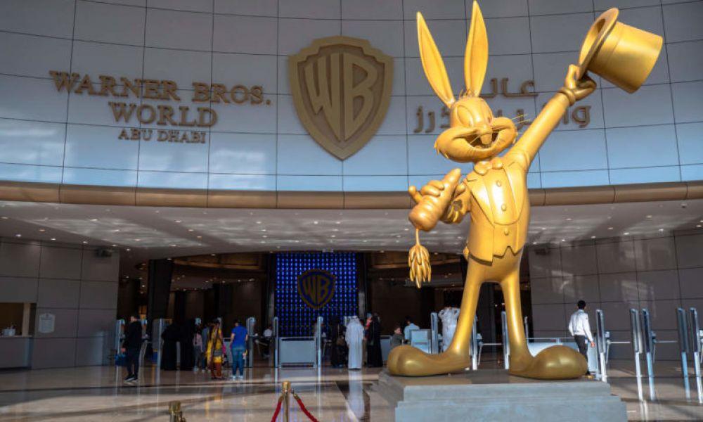 Entrée du Warner Bros d'Abou Dabi