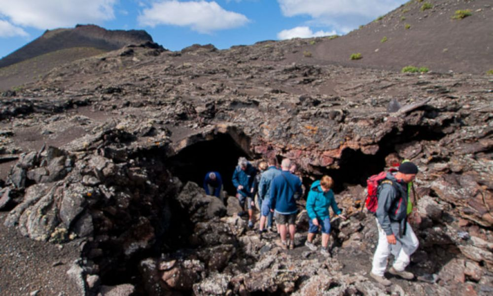 Explorer le paysage lunaire de Lanzarote