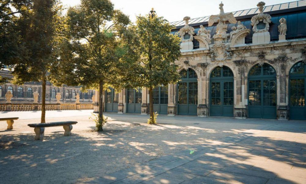 L'un des joyaux de Dresde, le Palais Zwinger