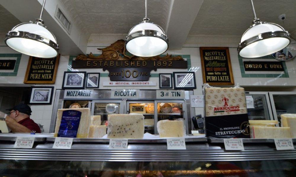 Des fromages dans Little Italy
