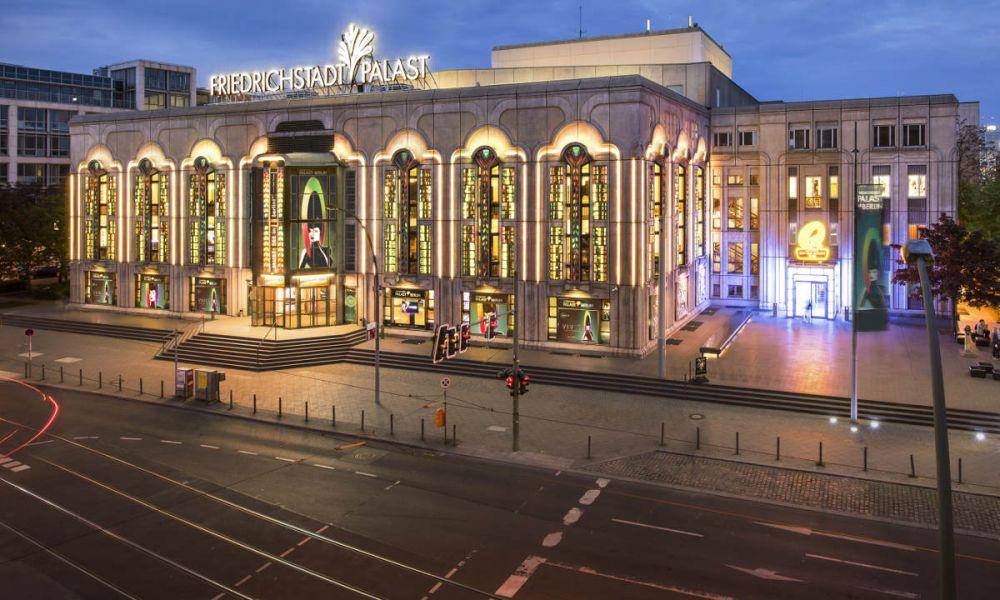 La façade du Friedrichstadt Palast