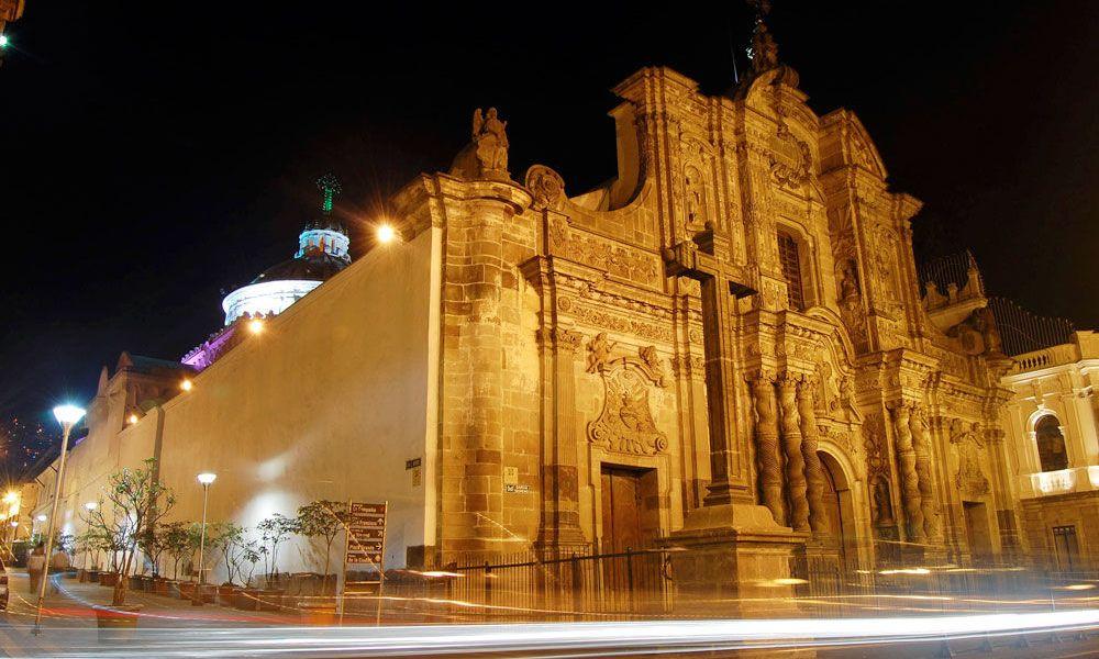 Église de la Compagnie de nuit