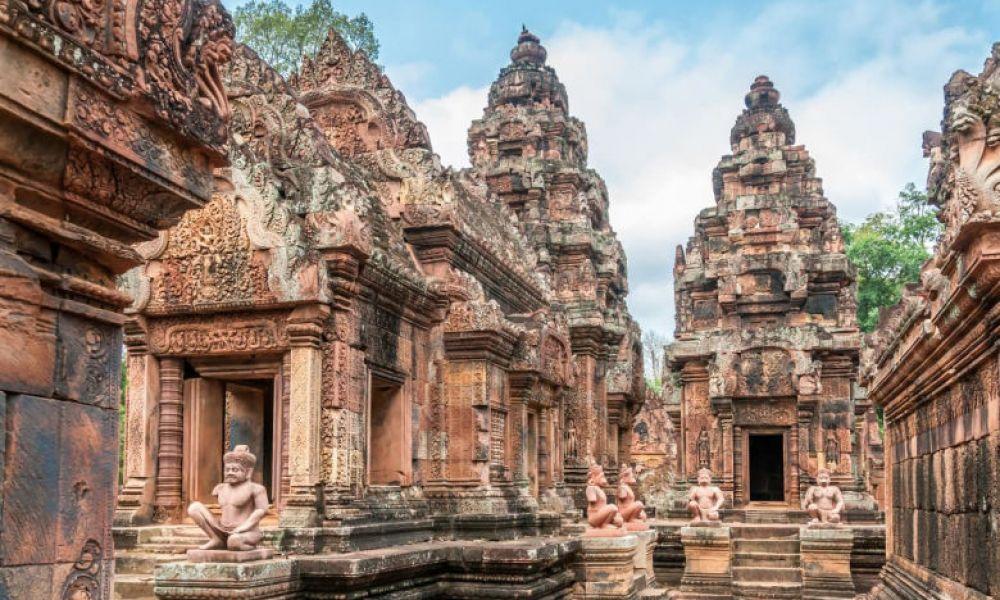 Le temple de Banteay Srei