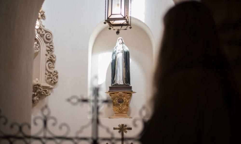 Vierge de l'Abbaye du Sacromonte