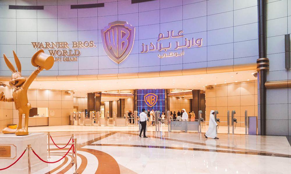 Intérieur du Warner Bros d'Abou Dabi