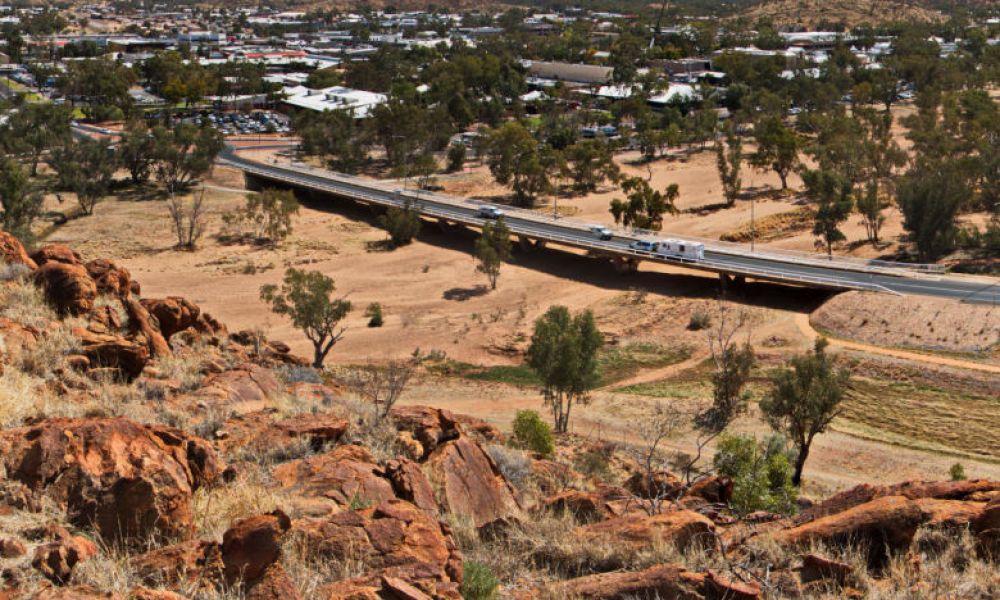 Vue sur Alice Springs