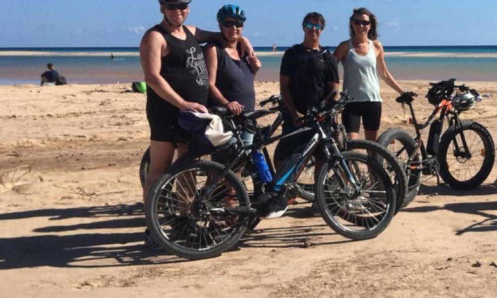 Faire du vélo électrique dans le sud de Fuerteventura