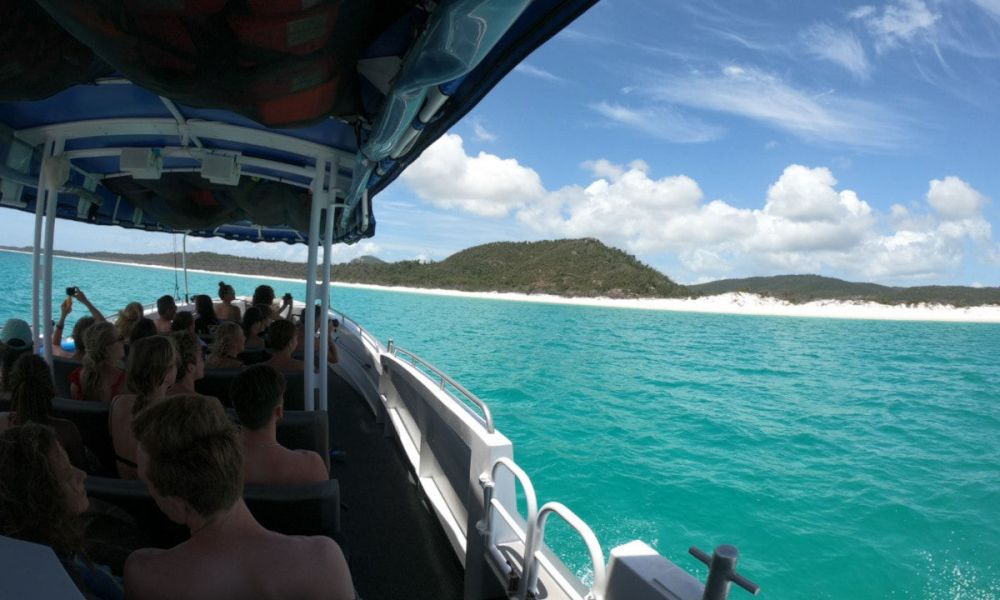 Le bateau aux Whitsundays